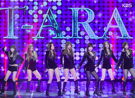Kpop Girl group T-ara To Disband This Year