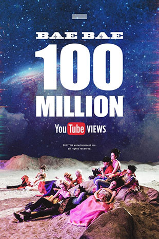 BIGBANGs MV tops 100 million views on YouTube