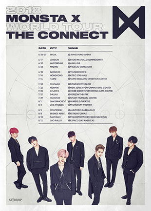 Monsta X to embark on world tour