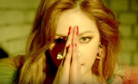 HyunA -(Hows this?)